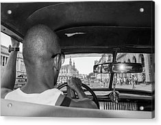 From The Taxi Acrylic Print