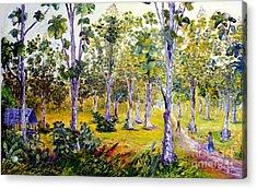 The Teak Garden Acrylic Print