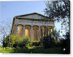 The Temple Of Hephaestus In Athens 02 Acrylic Print