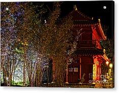 The Temple Acrylic Print