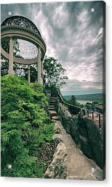 The Temple Walkway Acrylic Print by Jessica Jenney