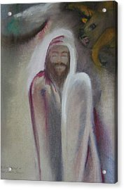 The Temptation Of Our Lord Acrylic Print by Carrie Maurer
