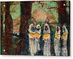 The Ten Virgins Acrylic Print by Debi Bond