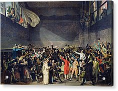 The Tennis Court Oath Acrylic Print