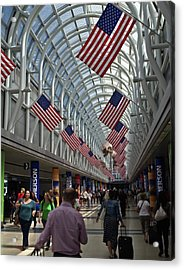 The Terminal Walkway Acrylic Print