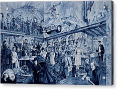 the Terrible Tavern Acrylic Print