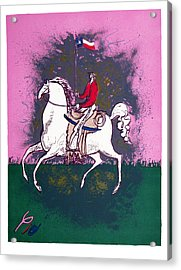 The Texan Acrylic Print by Pio Pulido
