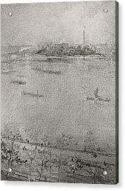 The Thames Acrylic Print by James Abbott McNeill Whistler