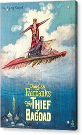The Thief Of Bagdad,  Douglas Acrylic Print by Everett