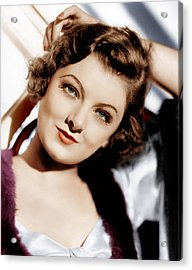The Thin Man, Myrna Loy, 1934 Acrylic Print