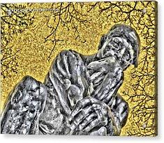 The Thinker - Study #1 Acrylic Print
