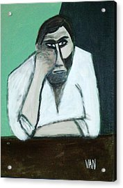 The Thinker Acrylic Print