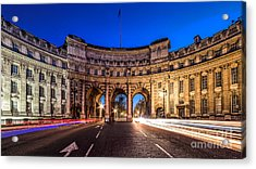 The Three Gates Acrylic Print by Giuseppe Torre