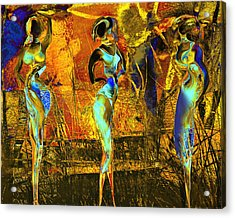 The Three Graces Acrylic Print