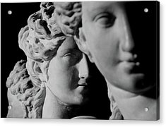 The Three Graces Acrylic Print by Roman School