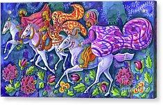The Three Kings Acrylic Print by Jane Tattersfield