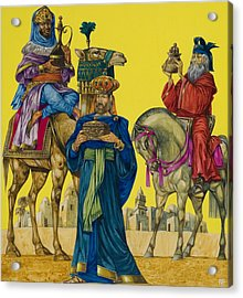 The Three Kings Acrylic Print by Richard Hook
