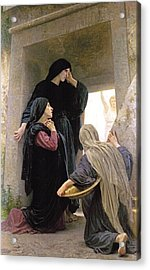 The Three Marys At The Tomb Acrylic Print