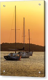 The Three Mast Acrylic Print