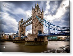 The Three Towers Acrylic Print by Giuseppe Torre