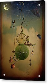 The Time Chasers Acrylic Print