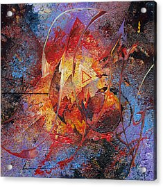 The Tipping Point Acrylic Print by Fred Wellner