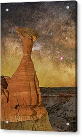 The Toadstool And The Core Acrylic Print