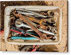 Acrylic Print featuring the photograph The Toolbox by Christopher Holmes