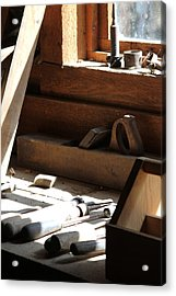Acrylic Print featuring the photograph The Tools by Laddie Halupa