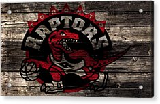The Toronto Raptors 2a Acrylic Print by Brian Reaves