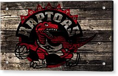 The Toronto Raptors 2b Acrylic Print by Brian Reaves