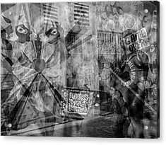 The Tourists - The Mission District Acrylic Print