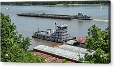 The Towboat Buckeye State Acrylic Print by Garry McMichael