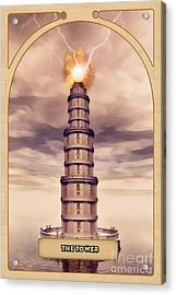 The Tower Acrylic Print by John Edwards