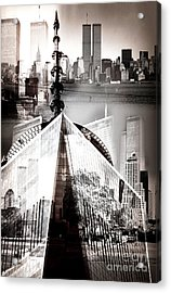 The Towers Acrylic Print by John Rizzuto