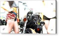 The Town Classic  Acrylic Print by Steven Digman