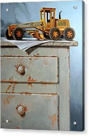 The Toy Grader Acrylic Print