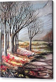 The Trail - Le Chemin Acrylic Print
