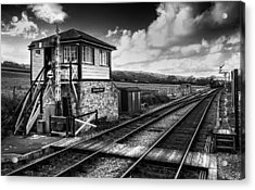 The Train Now Departing Acrylic Print