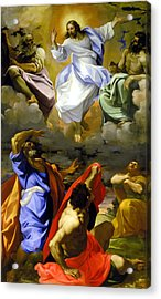 The Transfiguration Of Our Lord Acrylic Print by Lodovico Carracci