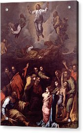 The Transfiguration  Acrylic Print by Raphael