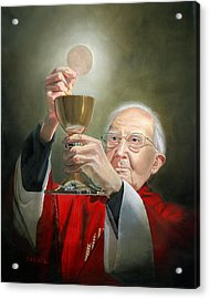 The Transubstantiation Acrylic Print by Cecilia Brendel