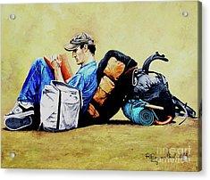 The Traveler 2 - El Viajero 2 Acrylic Print