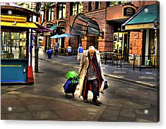 The Traveler Acrylic Print by Laurie Prentice
