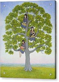 The Tree Acrylic Print by Ditz