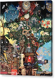 The Tree Acrylic Print by Emily McLaughlin