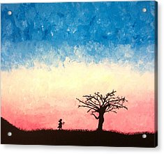 The Tree Acrylic Print by Jennifer Hernandez