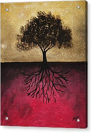 The Tree Of Life Acrylic Print by Edwin Alverio