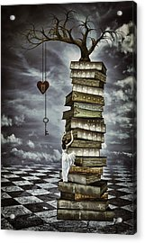 The Tree Of Love Acrylic Print by Mihaela Pater