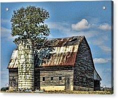 The Tree Silo Acrylic Print